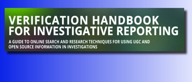 New Verification Handbook For Investigative Work