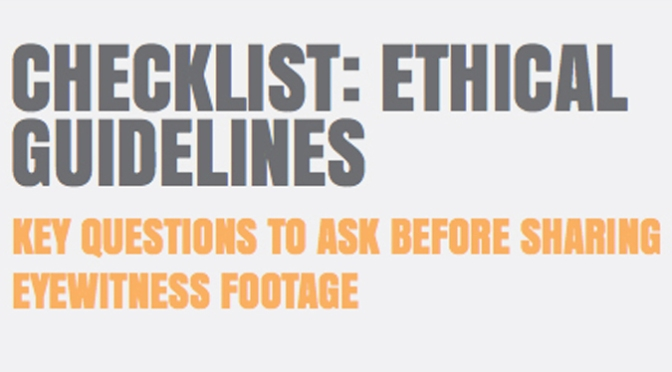 WITNESS Ethical Guidelines