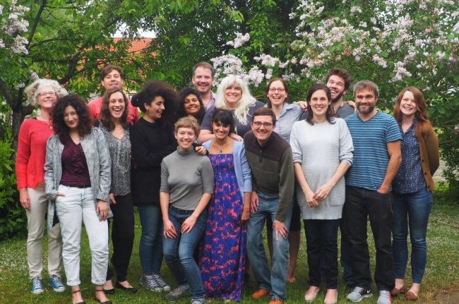 The DatNav team at the writing sprint in Berlin, May 2016